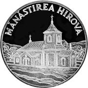 50 Lei - Monastery Hirova – revers