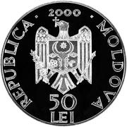 50 Lei Ţigăneşti Monastery – avers