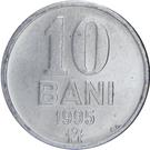 10 bani – revers
