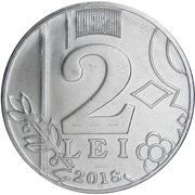 2 lei -  revers