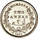 2 annas – revers