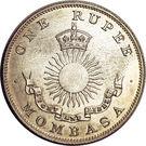 1 Rupee – avers
