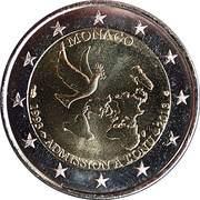 2 euros Admission à l'ONU -  avers