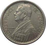 10 francs Louis II – avers