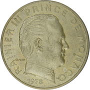 20 centimes Rainier III -  avers