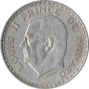 5 francs Louis II -  avers