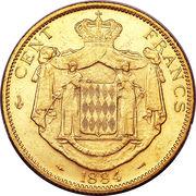 100 francs Charles III – revers