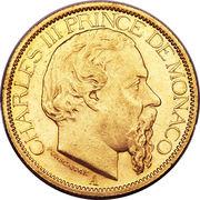 100 francs Charles III – avers