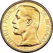100 francs Albert I – avers
