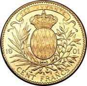 100 francs Albert I – revers
