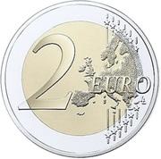 2 euros Honoré III de Monaco -  revers