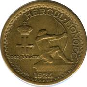 50 centimes Louis II -  avers