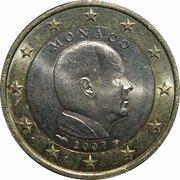 1 euro Albert II (2e carte) -  avers