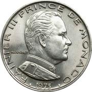1 franc Rainier III -  avers
