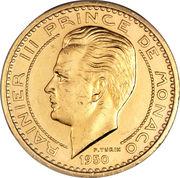 50 francs Ranier III (Essai) – avers