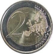 2 euros Albert II (2e carte) -  revers