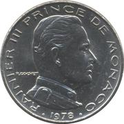 ½ franc Rainier III -  avers
