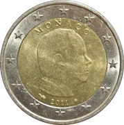 2 euros Albert II (2e carte) -  avers