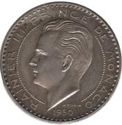 20 francs Rainier III (essai, piéfort) – avers