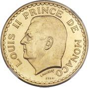 5 francs Louis II (Essai) – avers