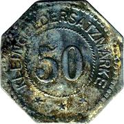 50 pfennig - Montabaur – revers