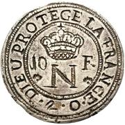 10 Francs - Napoleon – avers