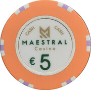 5 Euro - Maestral Casino (Przno) – avers