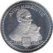 Avdo Mededovic Crne Gore – avers