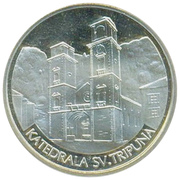 Token - Heritage of Montenegro (Katedrala Sv. Tripuna) – avers