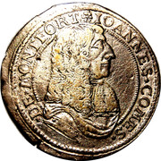 15 kreuzer Johann VIII – avers