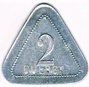 2 centimes - Quercy - Montpellier (34) – avers