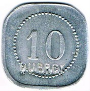 10 centimes - Quercy - Montpellier (34) – avers
