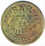 10 centimes - Bar V. Pauc - Montpellier (34) – avers