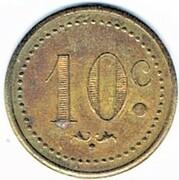 10 centimes - Bar V. Pauc - Montpellier (34) – revers