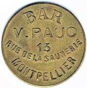20 centimes - Bar V. Pauc - Montpellier (34) – avers