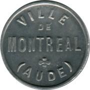 5 Centimes Ville de Montréal (Aude) [11] – avers