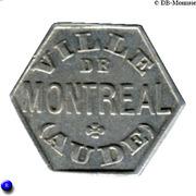 25 Centimes Ville de Montréal - Aude [11] – avers