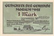 1 Mark (Morsum) – avers