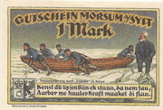1 Mark (Morsum) – revers