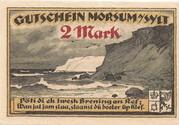 2 Mark (Morsum) – revers