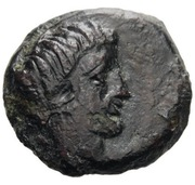 Bronze Æ12 (Motya) – avers