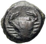 Bronze Æ12 (Motya) – revers