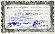 50 Centavos (Mountain Province) – avers