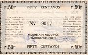 50 Centavos (Mountain Province) – revers