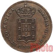 20 reis - Maria II – avers