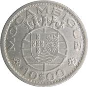 10 escudos – avers