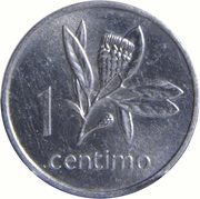 1 centimo – revers