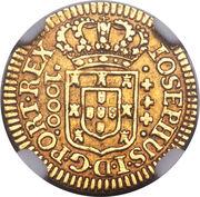 1.000  Réis - José I – avers