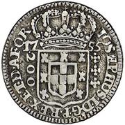 200 Réis - José I – avers