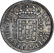 400 Réis -  José I – avers